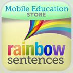 Rainbow Sentences grammar app